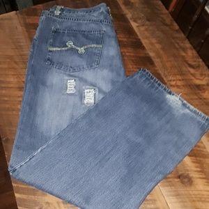 LRG Destroyed Denim Jeans